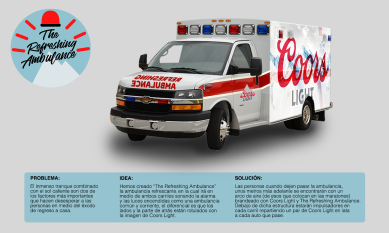 Board Refreshing Ambulance