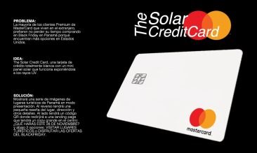 The Solar CreditCard